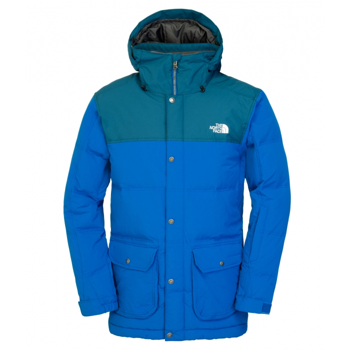 TheNorthFace Seaworth Down Snorkel Blue Jacket