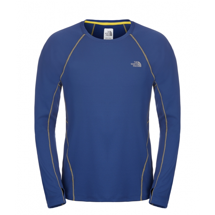ΜΠΛΟΥΖΑΚΙ TheNorthFace Impulse Active L/S Blue