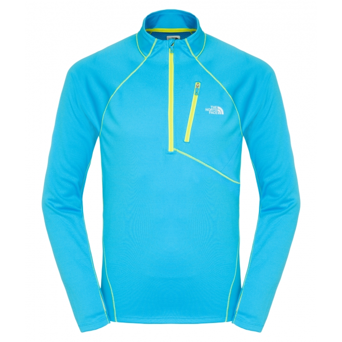 TheNorthFace Impulse Active 1/4 Zip Blue