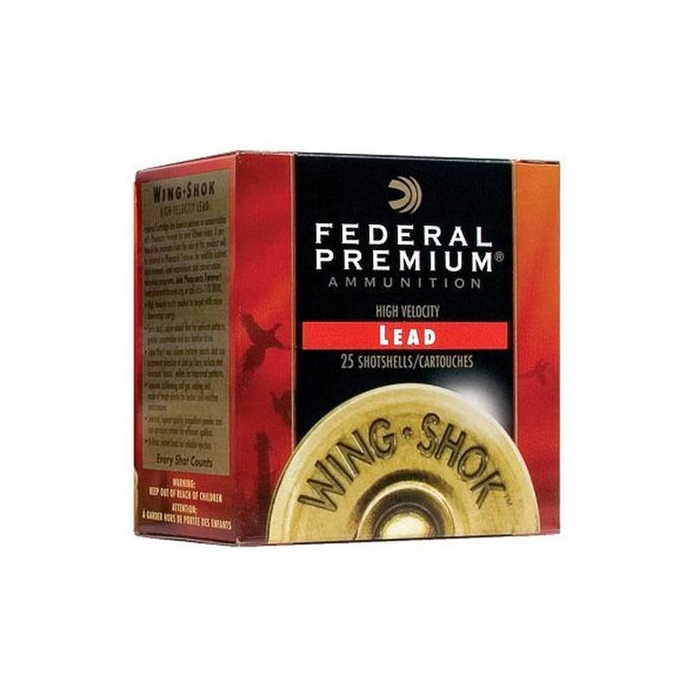 ΦΥΣΙΓΓΙΑ FEDERAL Premium Wing Shok High Velocity 2 ¾'' C12