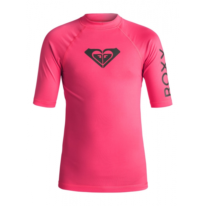 RASHGUARD ROXY Girls 7-14 Whole Hearted Cherry