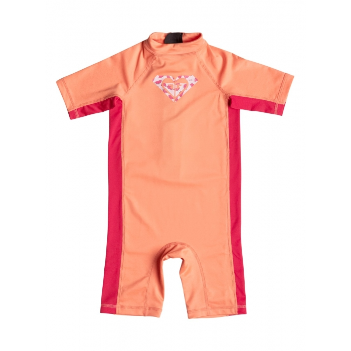 RASHGUARD ROXY Girls 2-6 So Sandy Coral/Red