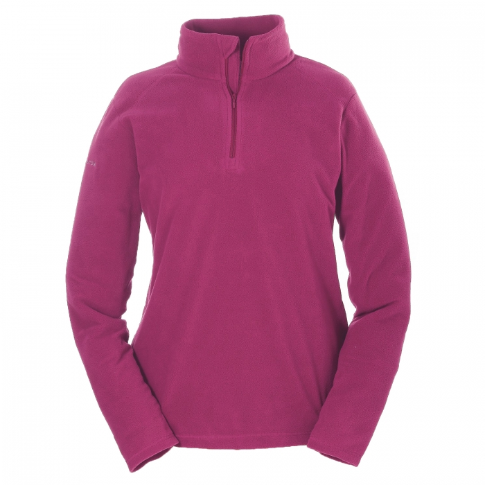 ΜΠΛΟΥΖΑ FLEECE COLUMBIA Women's Glacial Fleece II 1/2 Zip Violet