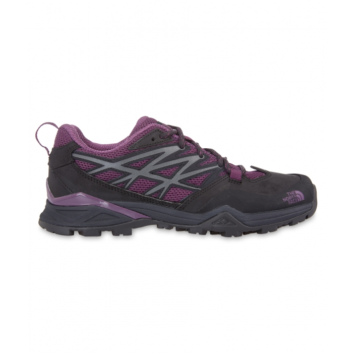 ΠΑΠΟΥΤΣΙΑ TheNorthFace Women's Hedgehog Hike Grey/Currant Purple