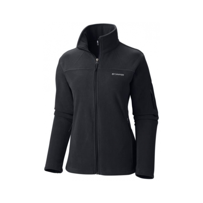ΖΑΚΕΤΑ FLEECE COLUMBIA Women's Fast Trek Black
