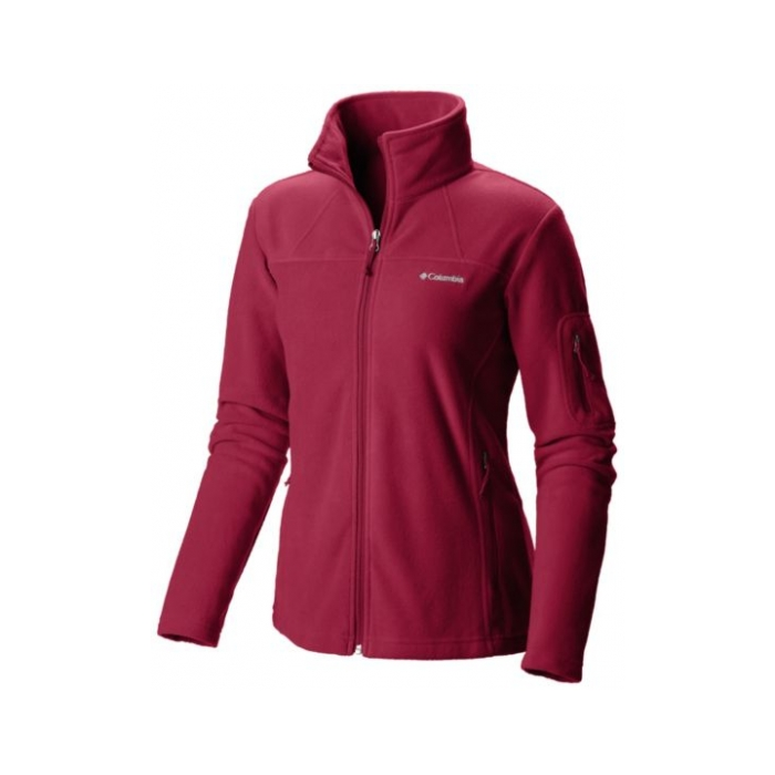 ΖΑΚΕΤΑ FLEECE COLUMBIA Women's Fast Trek Red Orhid