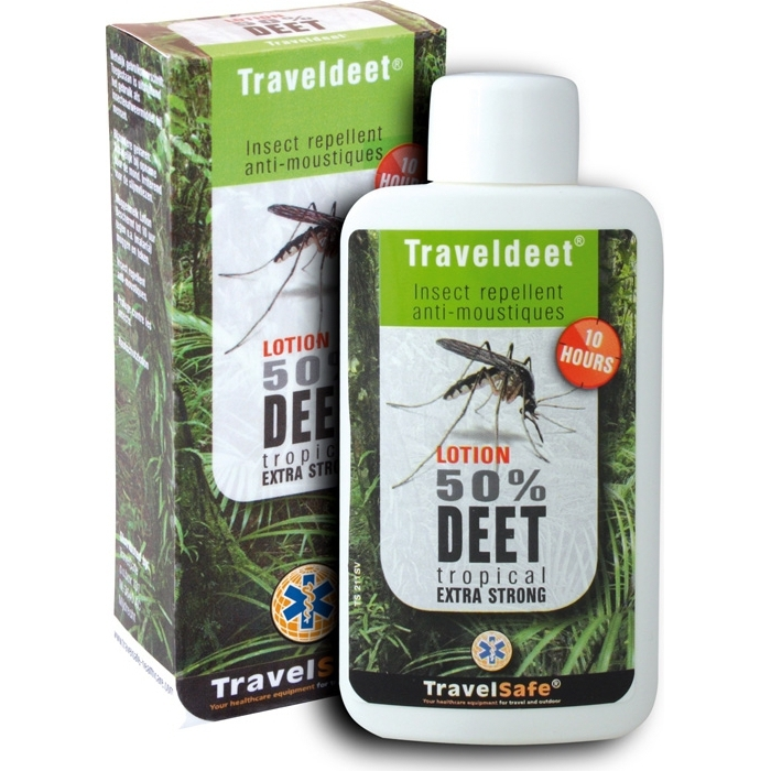 Travelsafe Deet 50% Lotion