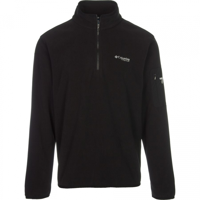 ΜΠΛΟΥΖΑ FLEECE COLUMBIA Titan Pass Half Zip Black