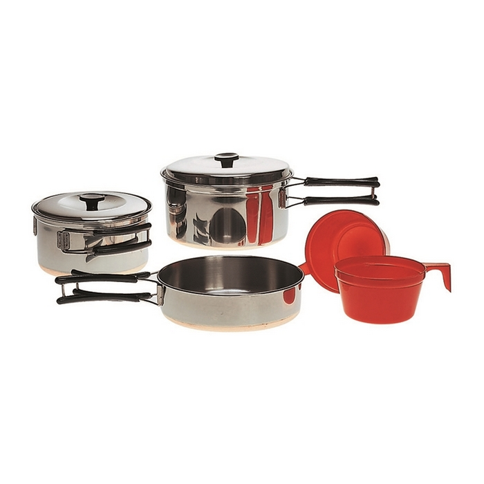 Mil-Tec by Sturm Stainless Cook Set