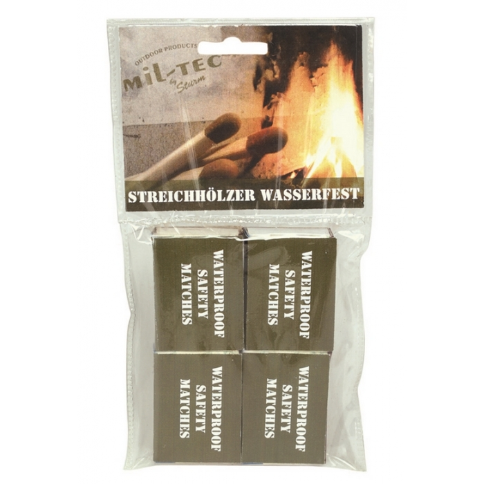 Mil-Tec by Sturm Water Resistant Matches