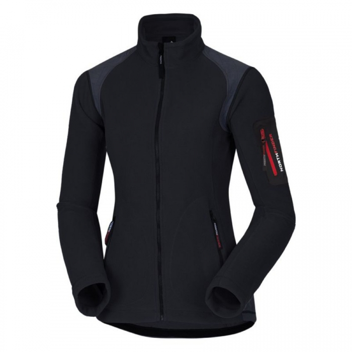ΖΑΚΕΤΑ FLEECE NORTHFINDER Women's Alana Black