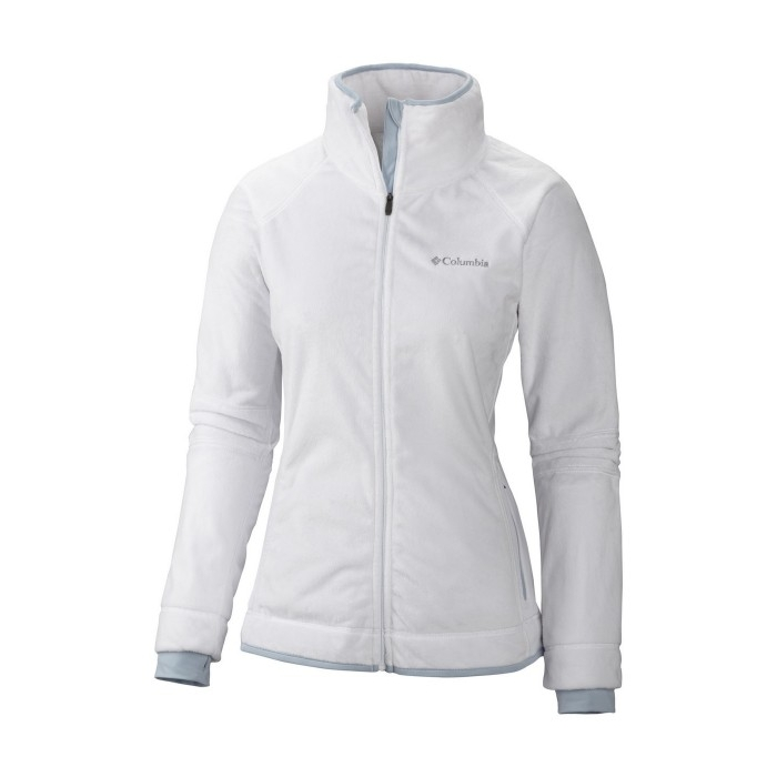 ΖΑΚΕΤΑ FLEECE Women's Pearl Plush II White