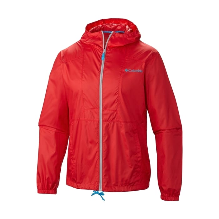 COLUMBIA Flashback Windbreaker Red