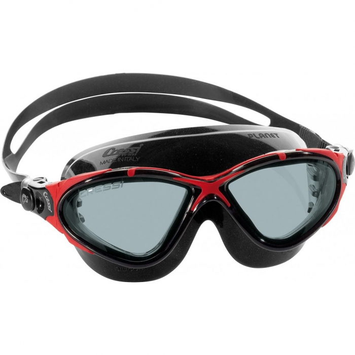 CRESSI-SUB Planet Black/Frame Red
