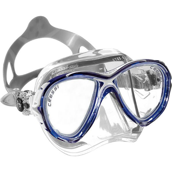 CRESSI-SUB Eyes Evolution Crystal Blue